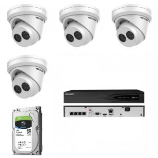 Vaizdo stebėjimo komplektas IP4